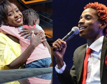 ¨The best thing you ever gave me was our son...¨ Jacque Maribe´s open letter to Eric Omondi on his birthday