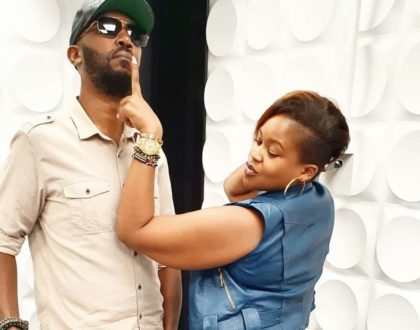 Andrew Kibe and Kamene Goro talk about their relationship after meeting on Tinder