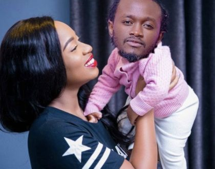Relationship goals! Diana Marua steps in to defend husband, Bahati after Khaligraph Jones' new diss track