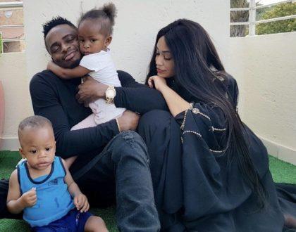 Diamond Platnumz finally talks to his children 2 years after dodging them!