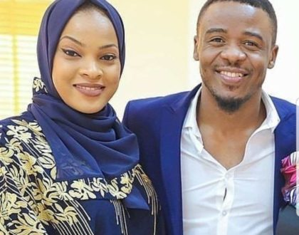 Alikiba's wife hits back at fan who tried to body shame her over sudden weight gain