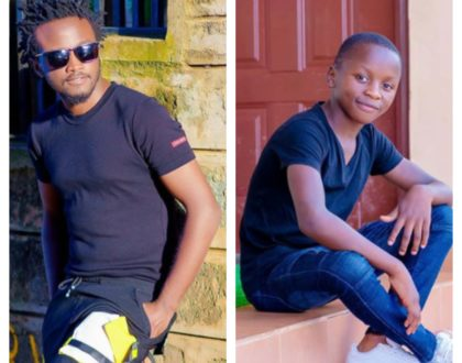"""You are now a full grown man..."" Bahati adorably celebrates son, Morgan"