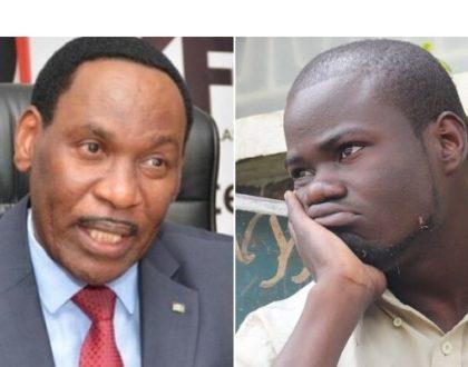 Dr Ezekiel Mutua runs to embattled comedian Mulamwah's rescue, KOT disapprove