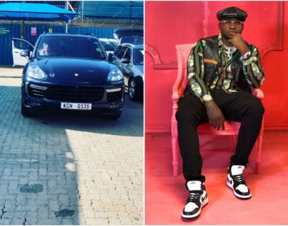 Respeck! Khaligraph Jones boasts of newly acquired German beast [Video]
