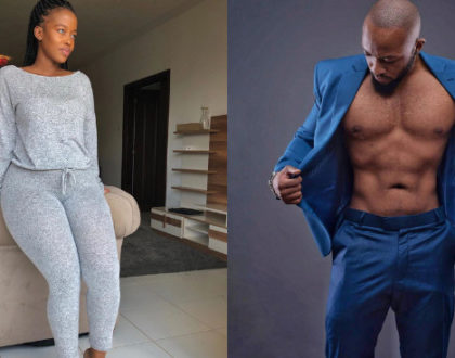 Dating Frankie Just Gym It? Corazon Kwamboka coyly responds