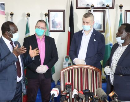 Mozzartbet donates medical equipment worth Shs 10 Million towards Covid-19 Pandemic fight