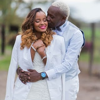 """He who finds a wife, finds a good thing"" Daddy Owen sweetly celebrates his wife on their 4th wedding anniversary"