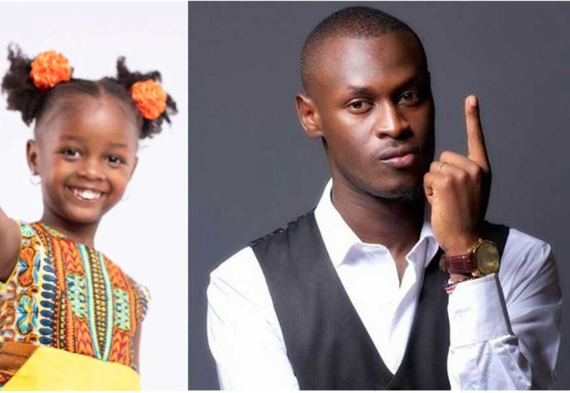 Aww! King Kaka adores his first daughter with sweet words on her 6th birthday