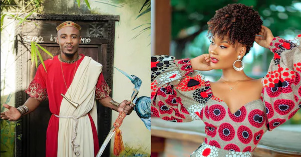 Wild reactions as Diamond's baby mama, Hamisa Mobetto features in Ali Kiba's new jam [Watch]