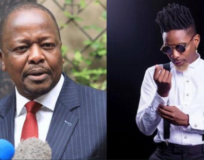 Watch: Eric Omondi cracks up Kenyans in recent imitation of Health CS Mutahi Kagwe's press briefings