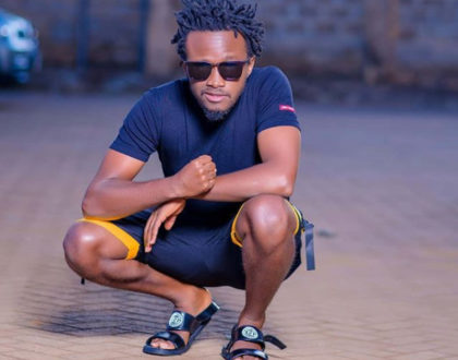 Bahati is running out of creativity, repeatedly rocking dresses