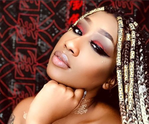 """""""Forever yours!"""" Victoria Kimani introduces her new hot flame, Michael Blackson (Photos)"""