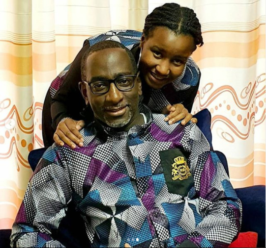 """""""To my first lady..."""" City pastor, Robert Burale sweetly adores 15-year old daughter"""