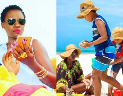 """I had to make this relationship work for the sake of my children"" Akothee repairs relationship with her baby daddies"