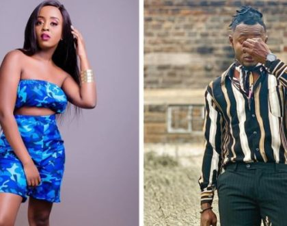 """Focus on your music and forget the sideshows"" Arrow Bwoy responds to Nadia Mukami's dating reports"