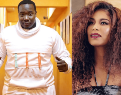 """I'm weak!"" Willis Raburu admits after Julie Gichuru's live birthday message to him on video"