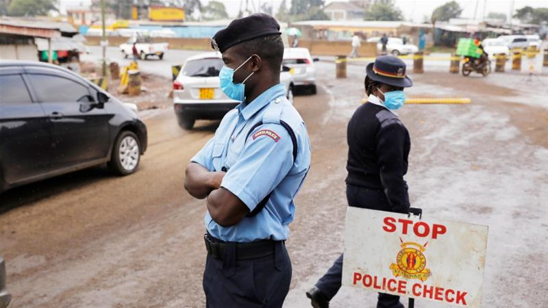 An interesting account of the tense moments at the Nairobi County lockdown barrier on Thika Road