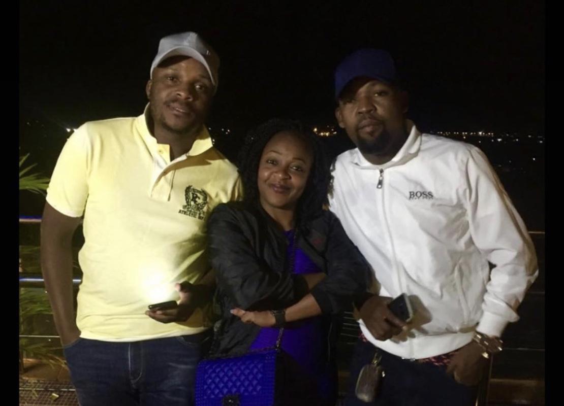 Jalas, Alex Mwakideu and Alex' alleged mistress