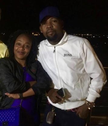 Irene Barungi with Alex Mwakideu
