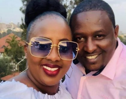 Milly Chebby's thoughtful message to hubby as he turns a year older!