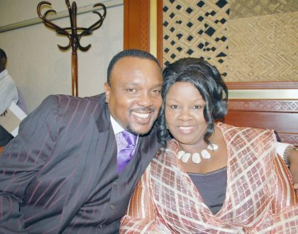 """I saw a man with a vision!"" Reverend Kathy Kiuna reveals why she settled for her darling husband"