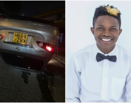 Mr Seed involved in grisly road accident (Photos)