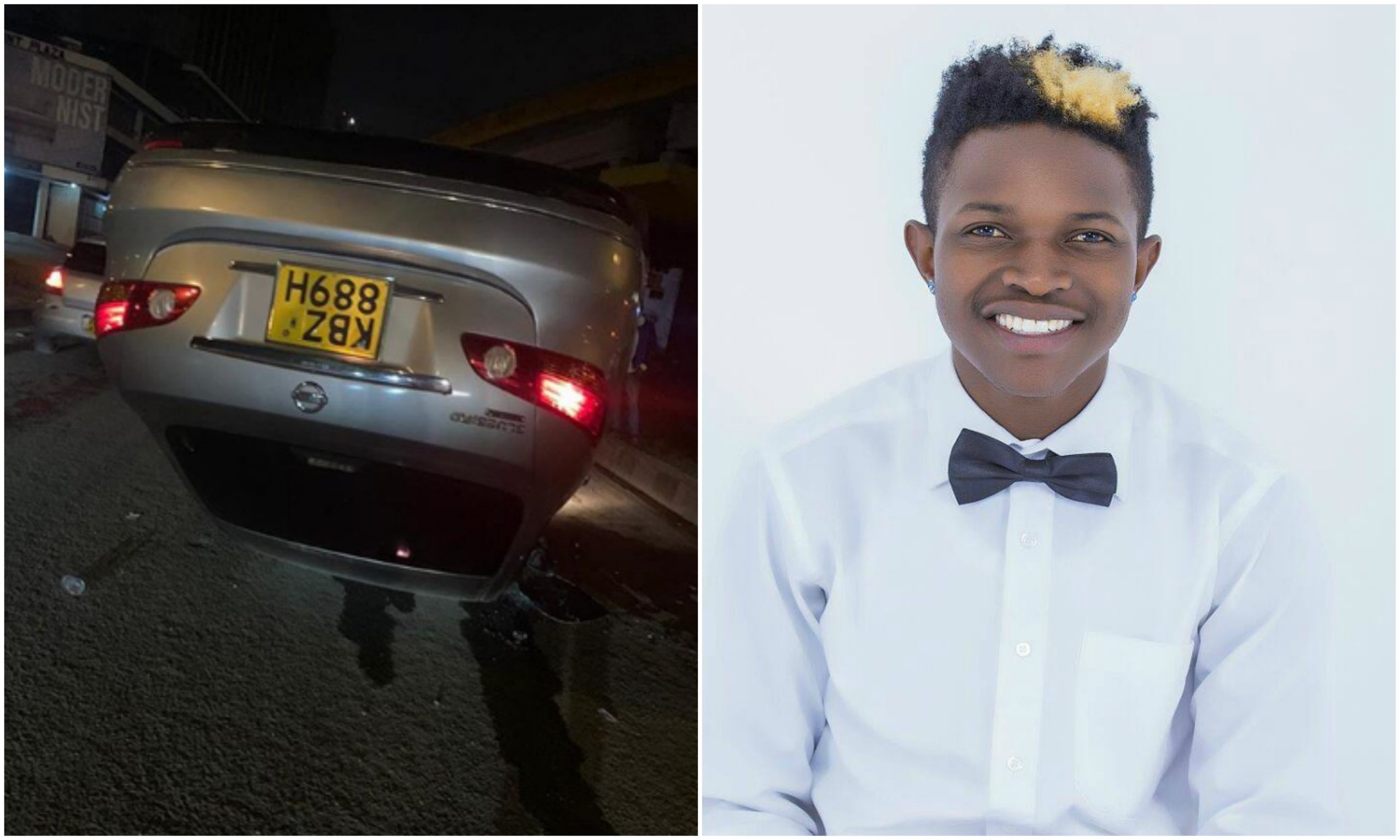 EXCLUSIVE: Mr Seed involved in road accident (Interview)