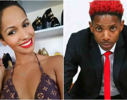 """Always know I am here for you,"" Eric Omondi´s sweet message to ex, Chantal Grazioli"