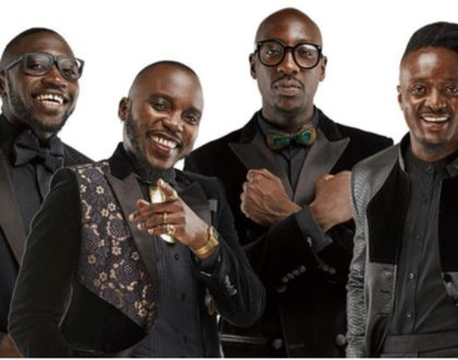 Sauti Sol respond to claims they never give back to society