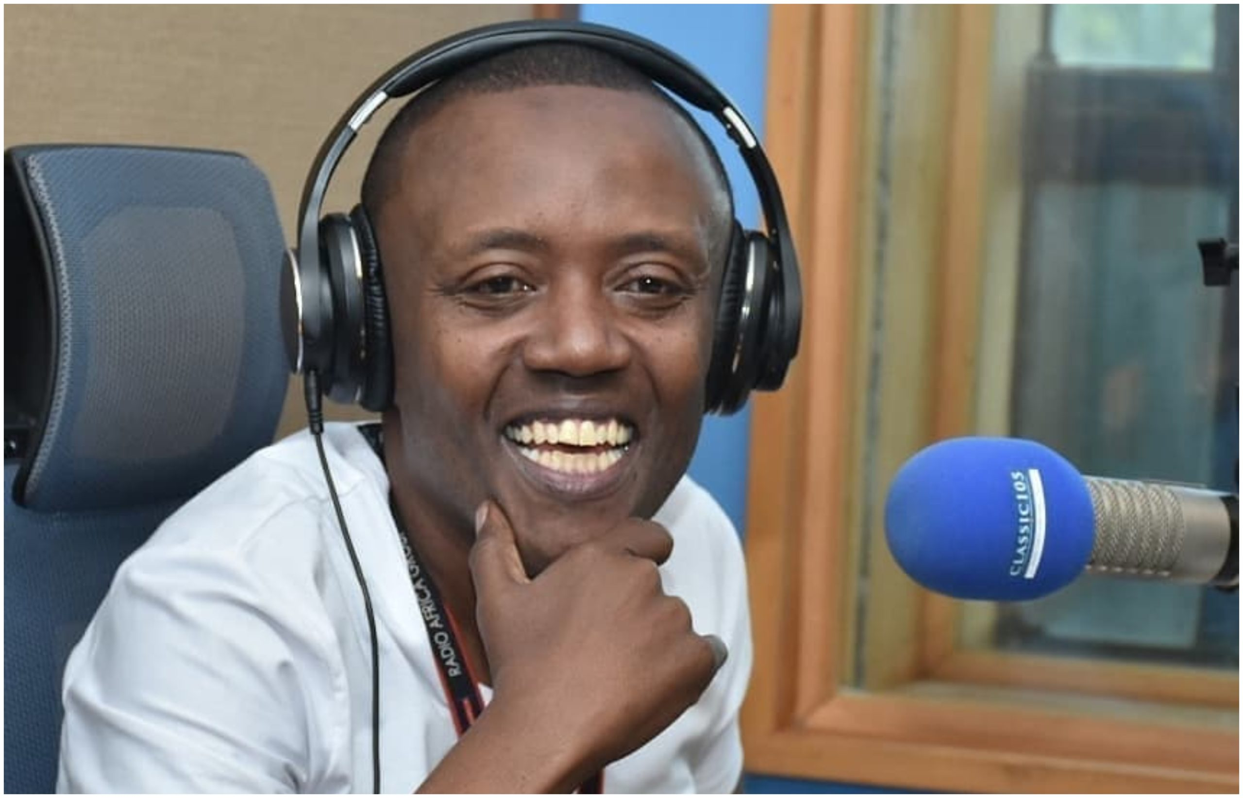 """My heart and body want you,"" woman thirsts after Maina Kageni on live radio"