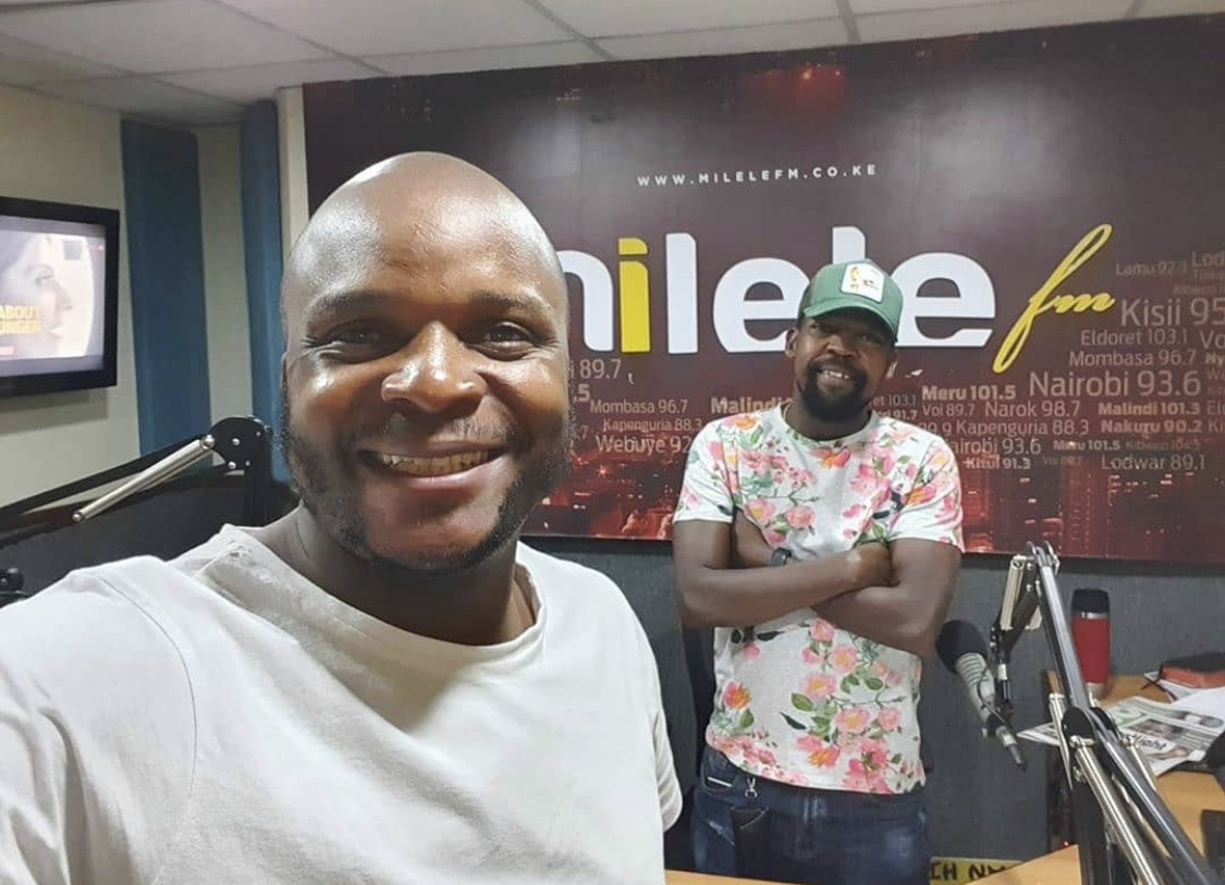 Fans mock Alex Mwakideu for allegedly cheating on his wife with a colleague from Milele FM