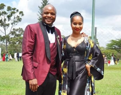 Jalang'o and wife appear in public together after nasty cheating scandal! (Photo)
