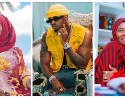 Diamond Platnumz will never get married as long as his mother lives