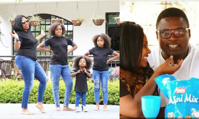 How cute! What Massawe Japanni's hubby did for her on their wedding anniversary (Photos)