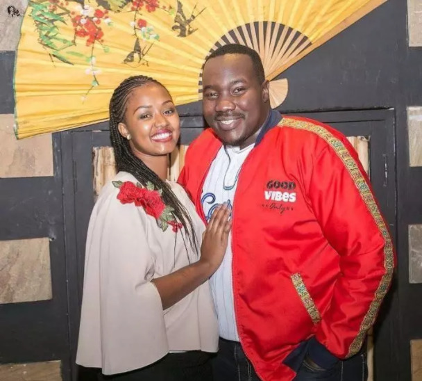 Willis Raburu's wife Marya Prude seems to be moving on