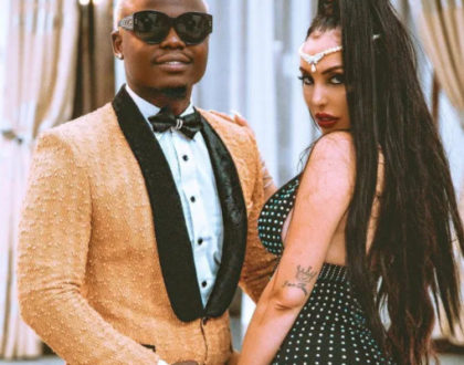 """Forever yours!"" Harmonize reassures Sarah Michelotti on their anniversary"