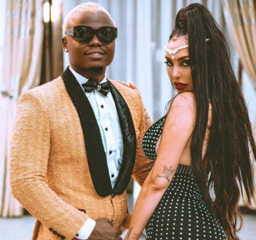 """""""Forever yours!"""" Harmonize reassures Sarah Michelotti on their anniversary"""