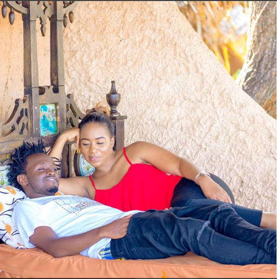 Bahati and Diana Marua: loved by those who matter