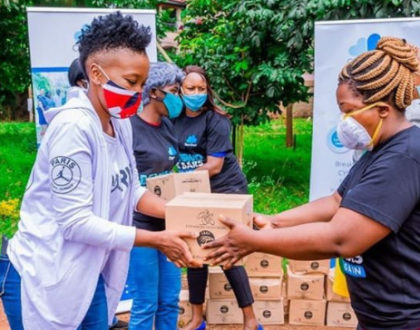 Revealed! Why celebrities photograph their acts of charity