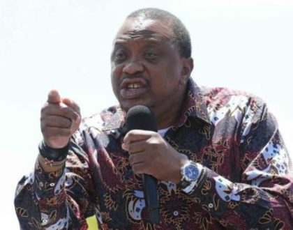 President Uhuru blasts son for reckless behavior on live TV (Video)