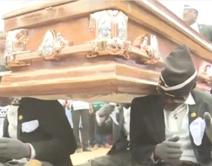 """Business is bad!"" Dancing Pallbearers complain after sudden rise of the Coronavirus pandemic"
