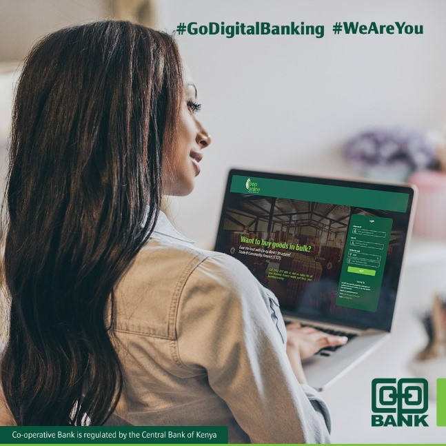 For a business owner, how does using the E-commerce solution from Co-op Bank help grow a business?