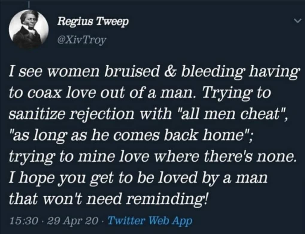 Lilian muli post bitching about love