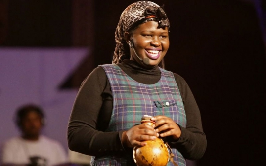 Churchill show's Jemutai unveils adorable months old daughter (Photo)