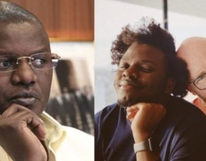 Kenyans should give Louis Otieno's son a break!