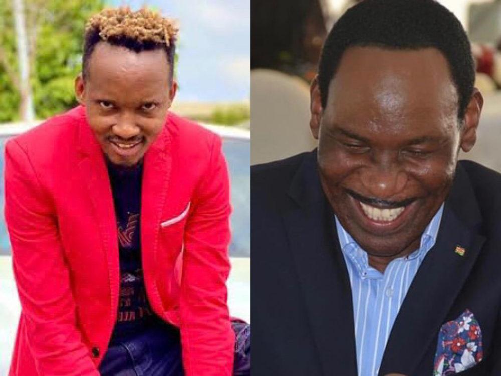 """My name has nothing to do with teenage pregnancies!"" Singer Katombi claps back at Ezekiel Mutua"