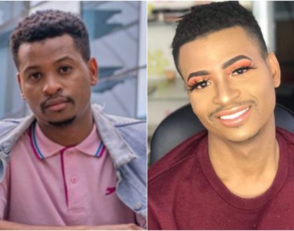 Presenter Ali´s complete makeup transformation raises eyebrows on his sexuality (Video)
