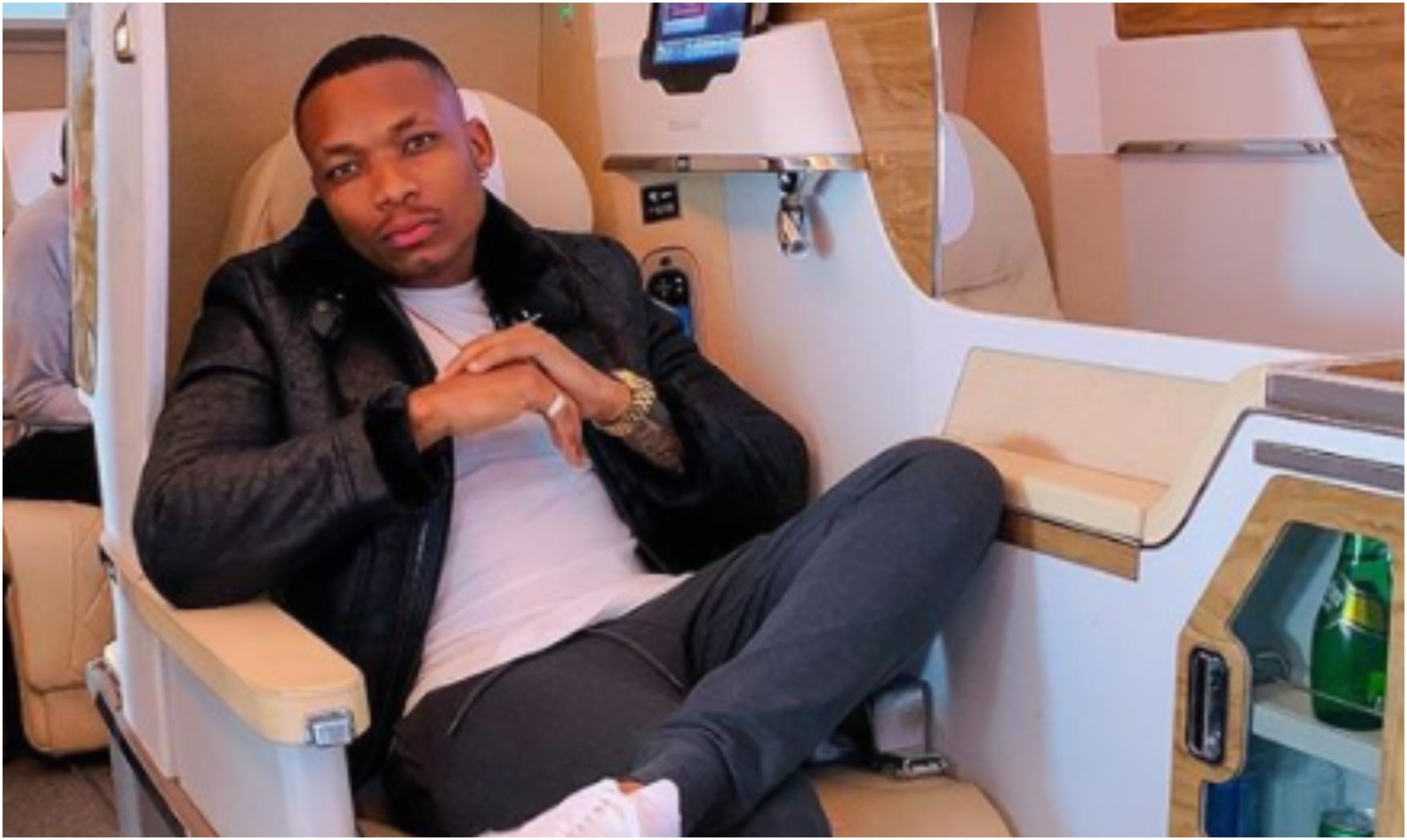 Otile Brown splashes KSh 5 million on classy German machine after completing album (Photos)