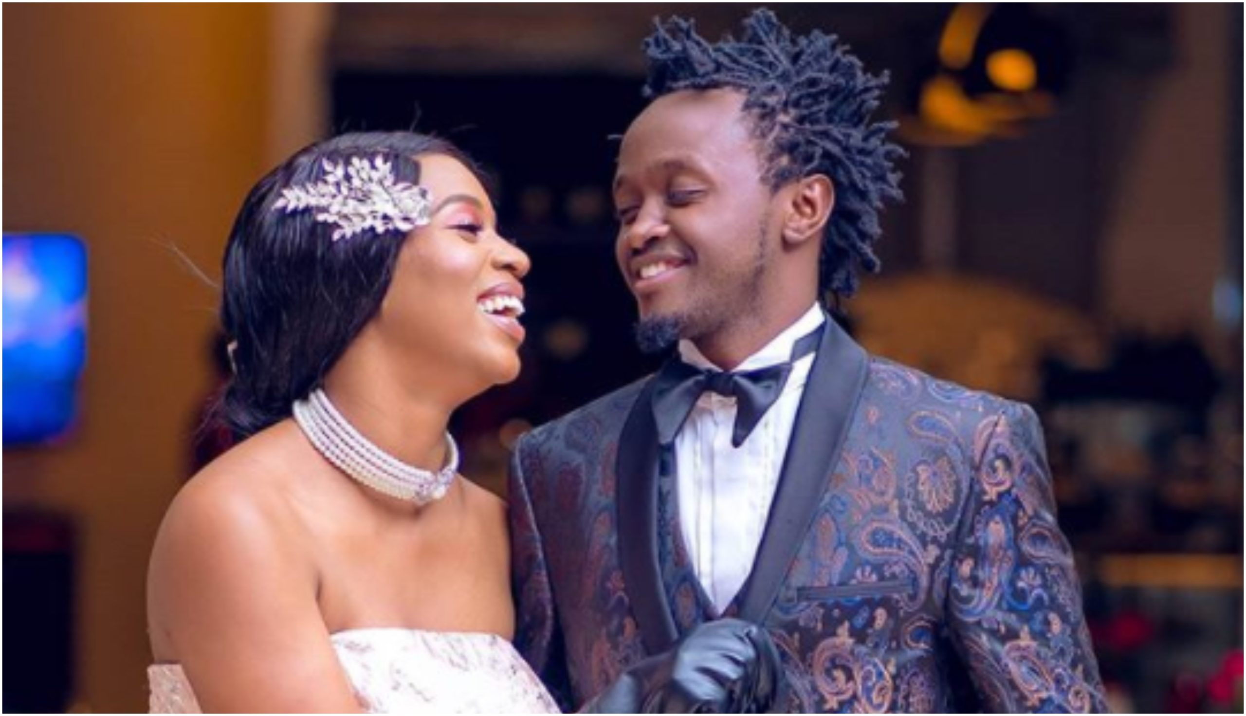 Diana Marua´s special promise to Bahati that left him speechless
