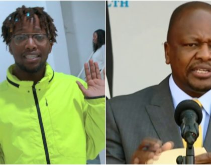 CS Mutahi Kagwe´s son who is a rapper and IT guru impresses Kenyans (Video)